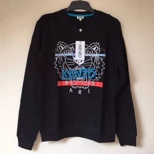8d3389c4ce6d20 Kenzo Sweaters | Mens Hyper Tiger Sweatshirt Black New | Poshmark